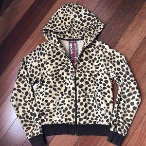 L.A.M.B. Cheetah Print Hoodie